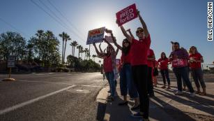 Arizona teachers explain why they walked out