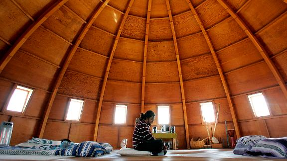 Recline in the Integratron for a