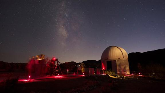 Far from light pollution and big cities, Joshua Tree boasts breathtaking views of the night sky. At Sky