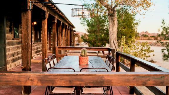 After a long day of exploring, lay your head down at Pioneertown Motel. Located just behind Pappy & Harriet