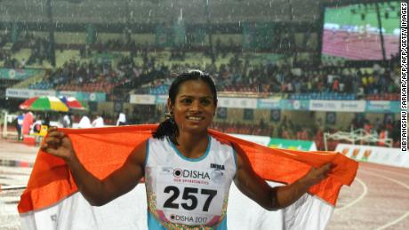 Dutee Chand won a landmark case in 2015.