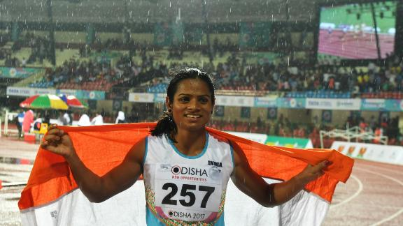 Chand won a landmark case against the IAAF in 2015