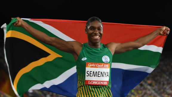 Competing at the Commonwealth Games for the first time, Semenya won double gold for South Africa in April.