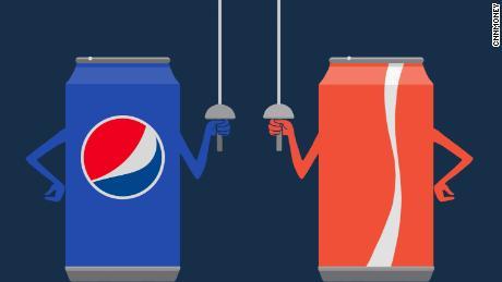 Image result for coke vs pepsi