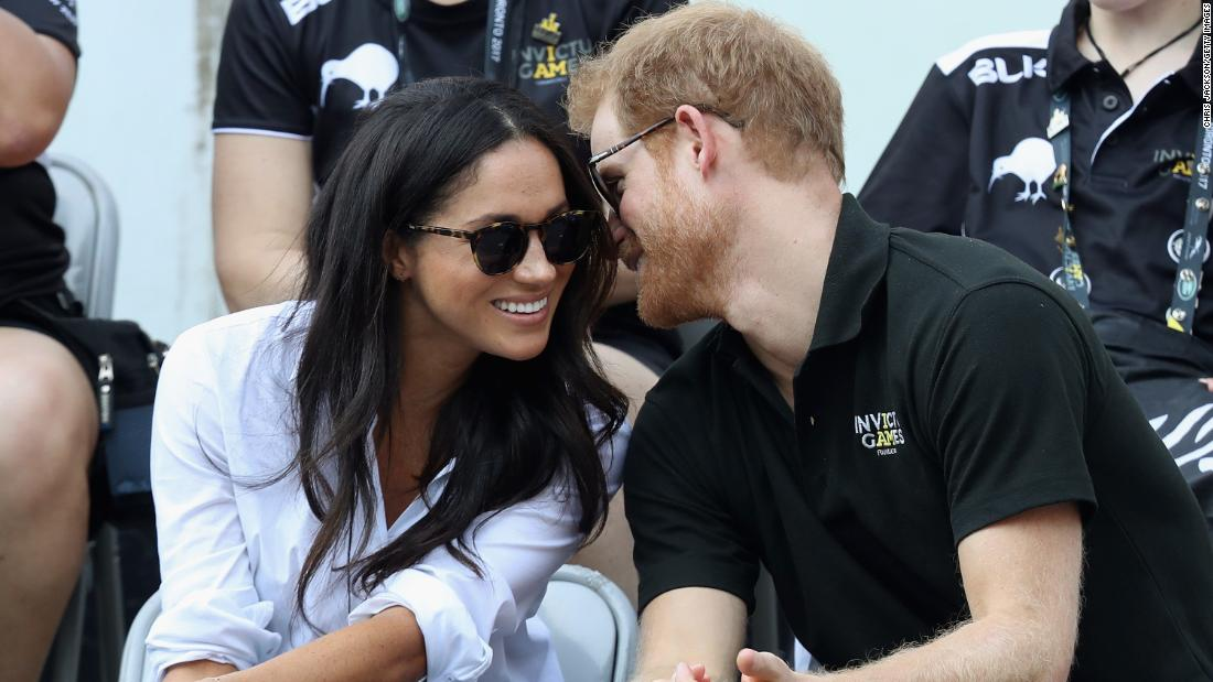 "Meghan first appeared alongside Harry at the Invictus Games in Canada in September last year. ""No one knew that was going to happen,"" Jackson says. ""It was a nice surprise for everyone."" Toronto, Canada, September 2017."