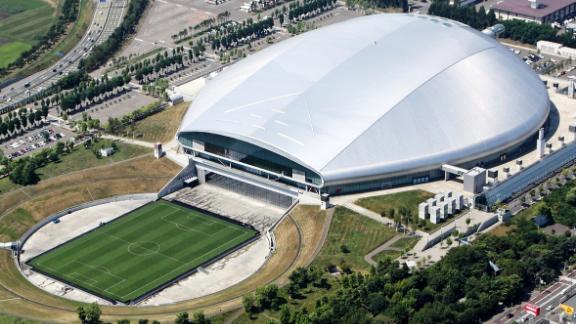 What: Sapporo Dome Capacity: 41,410 Where: Sapporo City Matches: Australia vs Fiji; England vs Tonga