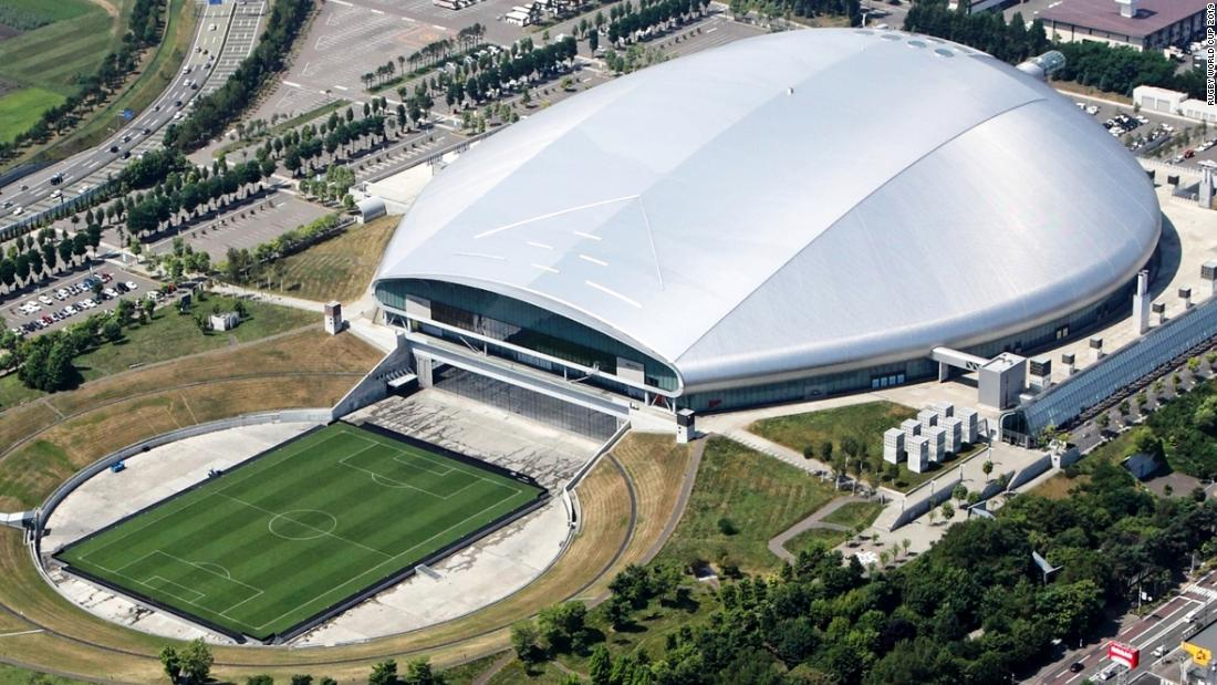 <strong>What:</strong> Sapporo Dome<br /><strong>Capacity:</strong> 41,410<br /><strong>Where:</strong> Sapporo City<br /><strong>Matches:</strong> Australia vs Fiji; England vs Tonga