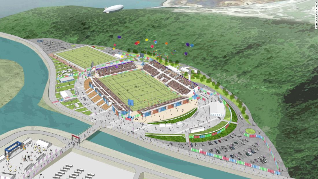 <strong>What:</strong> Kamaishi Recovery Memorial Stadium<br /><strong>Capacity:</strong> 16,187<br /><strong>Where: </strong>Kamaishi City, Iwate Prefecture<br /><strong>Matches:</strong> Fiji vs Uruguay; Africa 1 vs Repechage winner
