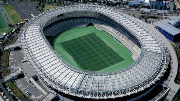 What: Tokyo Stadium Capacity: 49,970 Where: Tokyo Metropolitan Matches: Japan vs Romania; France vs Argentina; Australia vs Wales; England v Argentina; New Zealand vs Namibia; Quarterfinals 2 & 4; Bronze final