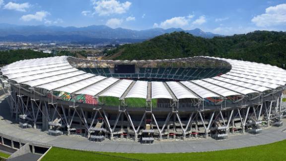 What: Shizuoka Stadium Ecopa Capacity: 50,889 Where: Shizuoka Prefecture Matches: Japan vs Ireland; South Africa vs Italy; Scotland vs Romania; Australia vs Georgia