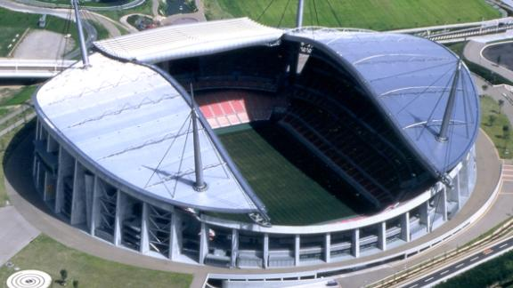 What: City of Toyota Stadium Capacity: 45,000 Where: Toyota, Aichi Prefecture Matches: Wales vs Georgia; South Africa vs Namibia; Japan vs Samoa; New Zealand vs Italy