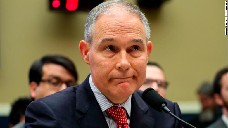 Pruitt under fire for $100,000 Morocco trip