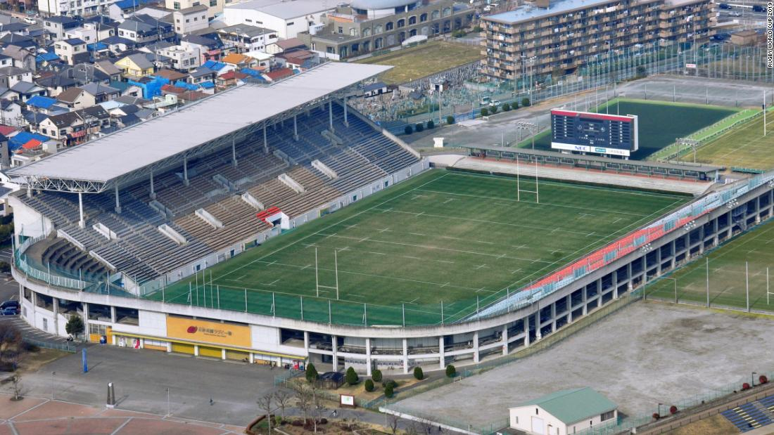 <strong>What: </strong>Hanazono Rugby Stadium<br /><strong>Capacity:</strong> 30,000<strong><br />Where:</strong> Higashiosaka City, Osaka Prefecture<br /><strong>Matches:</strong> Italy vs Africa1; Argentina vs Tonga; Georgia vs Fiji; USA vs Tonga