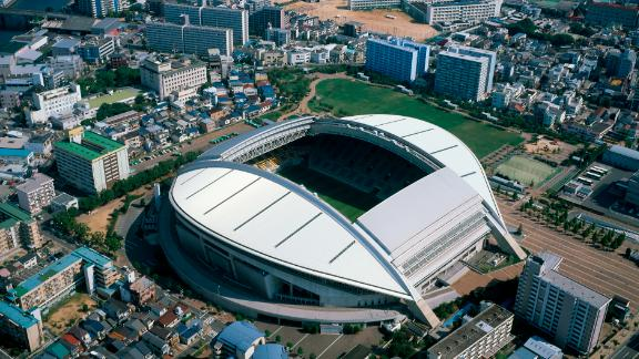 What: Kobe Misaki Stadium Capacity: 30,132 Where: Kobe City Matches: England vs USA; Scotland vs Samoa; Ireland vs Russia; South Africa vs Canada