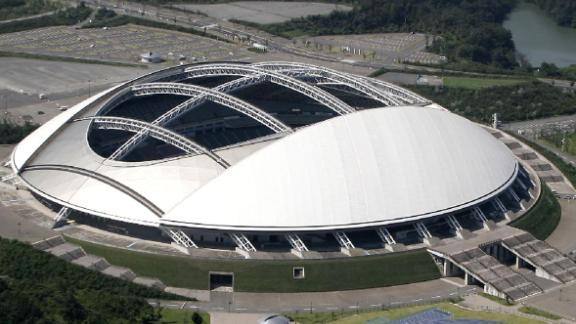 What: Oita Stadium Capacity: 40,000 Where: Oita Prefecture Matches: New Zealand vs Canada; Australia vs Uruguay; Wales vs Fiji; Quarterfinals 1  & 3