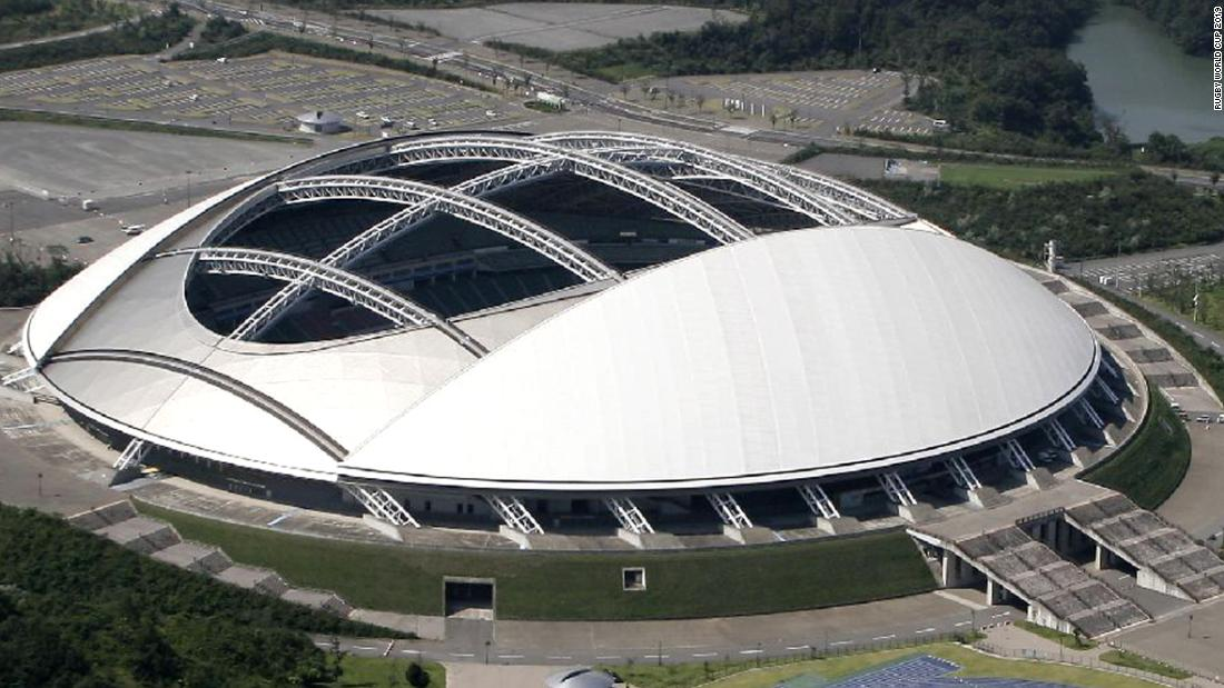 <strong>What: </strong>Oita Stadium<br /><strong>Capacity:</strong> 40,000<strong><br />Where: </strong>Oita Prefecture<br /><strong>Matches: </strong>New Zealand vs Repechage winner; Australia vs Uruguay; Wales vs Fiji; Quarterfinals 1  & 3