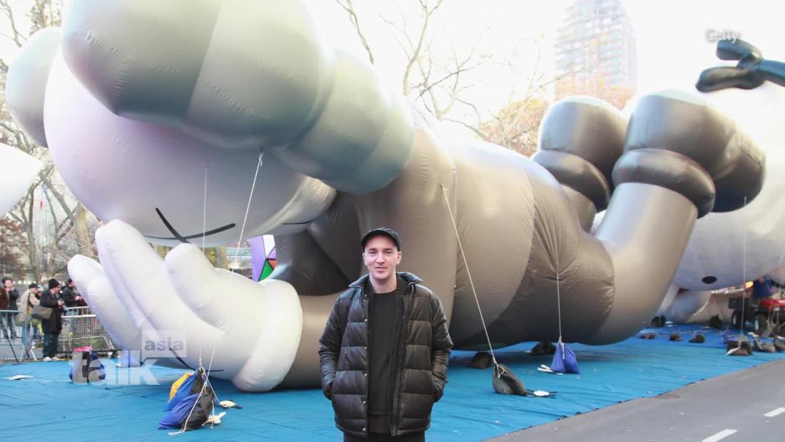 Meet World-renowned artist KAWS