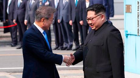 North and South Korea vow to end the Korean War in historic accord