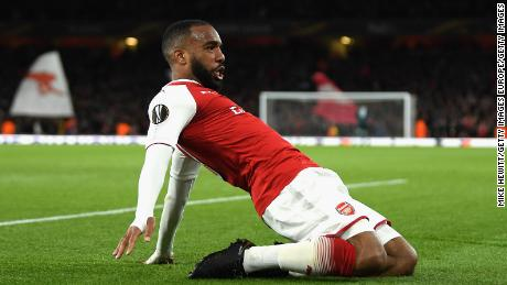 Lacazette joined Arsenal from French club Lyon at the start of the season. Lyon's stadium will host the Europa League final.