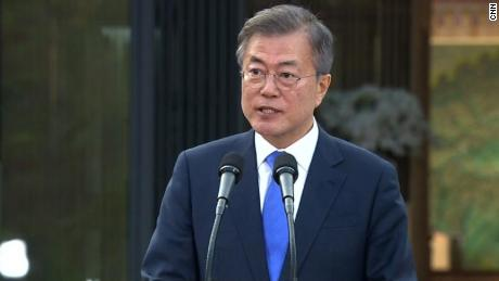 President Moon: There will be no more war