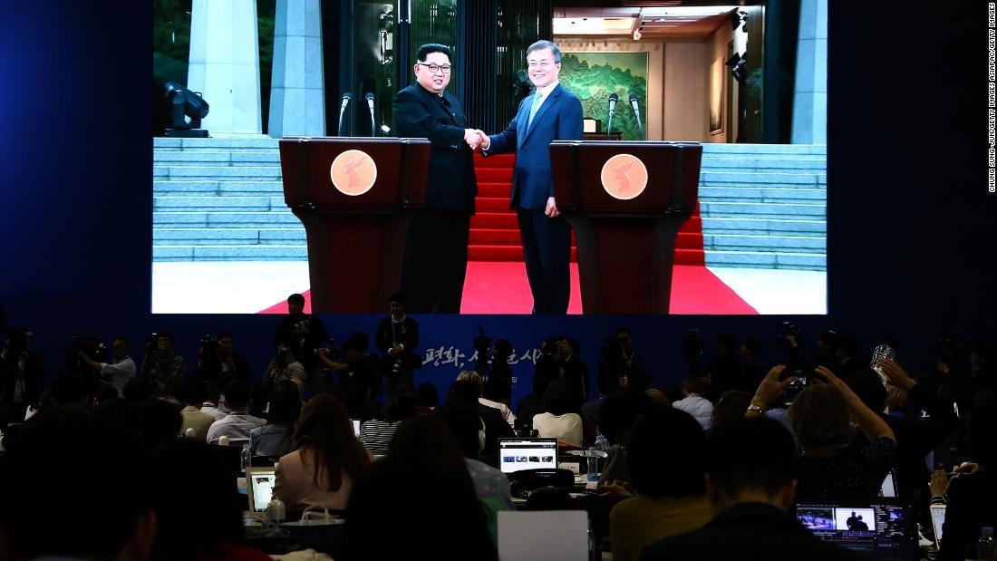 Good Morning My Friend In Korean : President trump hails breakthrough at korea summit