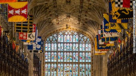 WINDSOR, UNITED KINGDOM - FEBRUARY 11: A view of the Quire in St George's Chapel at Windsor Castle, where Prince Harry and Meghan Markle will have their wedding service, February 11, 2018 in Windsor, England. The Service will begin at 1200, Saturday, May 19 2018. The Dean of Windsor, The Rt Revd. David Conner, will conduct the Service. The Most Revd. and Rt Hon. Justin Welby, Archbishop of Canterbury, will officiate as the couple make their marriage vows. (Photo by Dominic Lipinski - WPA Pool/Getty Images)