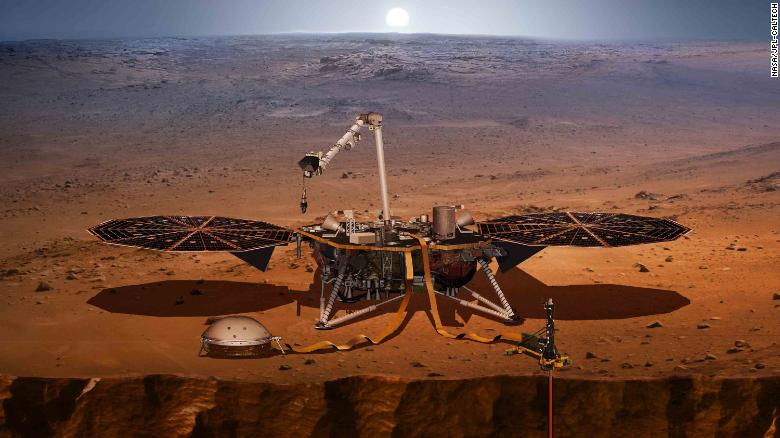 Red Planet: New NASA spaceship will really dig into Planet Mars
