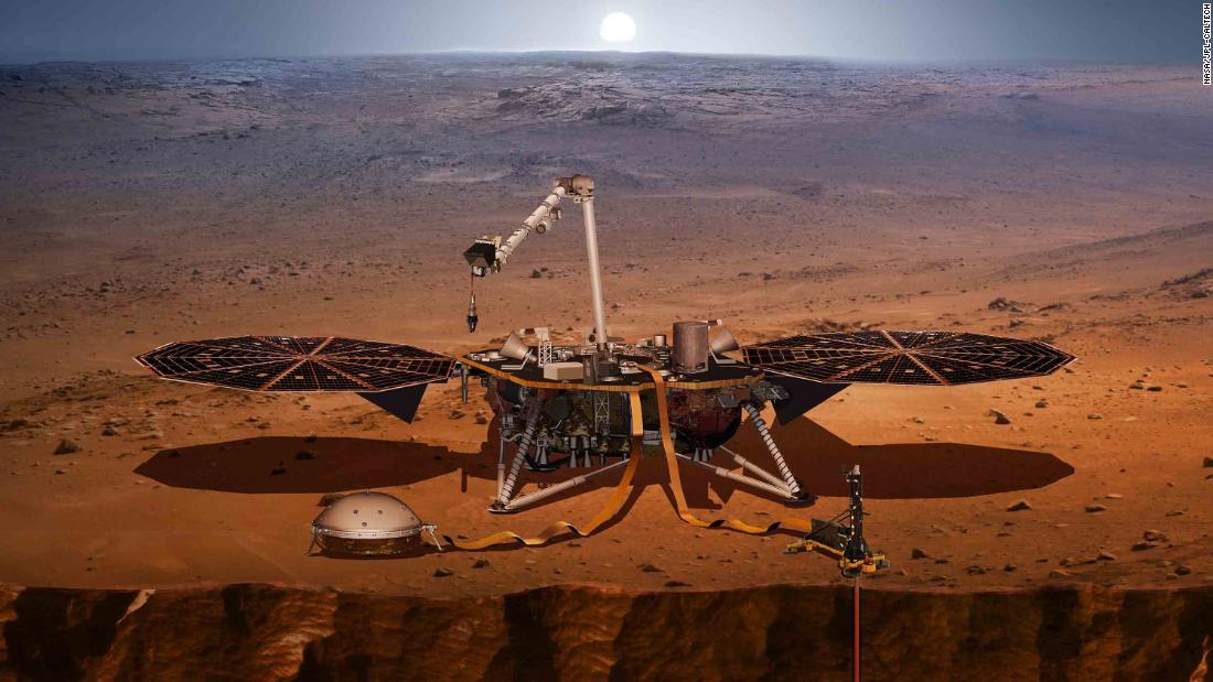 New NASA spaceship will really dig (into) Mars