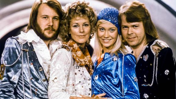"Swedish pop group Abba burst onto the international stage with ""Waterloo"" in 1974."