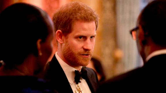 LONDON, ENGLAND - APRIL 19: Prince Harry sduring a reception for the Queen