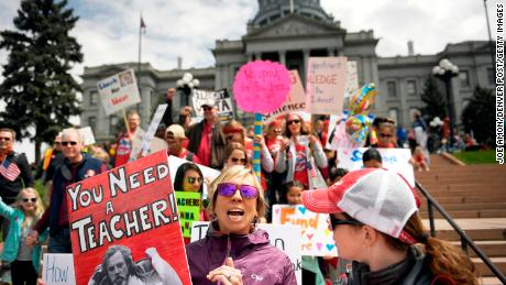 Colorado teachers aren't alone in their protests