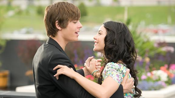 """""""High School Musical 3: Senior Year"""": Zac Efron and Vanessa Hudgens appear in the roles that made them stars. This time around, high school sweethearts Troy and Gabriella struggle with what will happen after graduation. (Netflix)"""