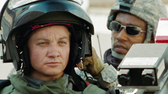 """""""The Hurt Locker"""": Jeremy Renner stars in this Oscar-winning drama which follows an an Iraq War Explosive Ordnance Disposal team as they try to survive against insurgents and the stress of war. (Amazon Prime)"""