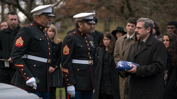 """""""Last Flag Flying"""": A trio of Vietnam vets reunite to bury one of their sons after the young Marine is killed in Iraq in this dramatic comedy. (Amazon Prime)"""