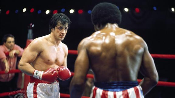 """""""Rocky"""": Sylvester Stallone both starred in and wrote this 1976 sports drama about a small time boxer who gets a shot at the big time in this now iconic film. (Amazon Prime and Hulu)"""