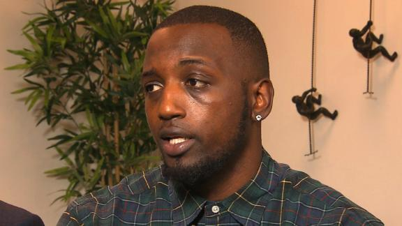 Desmond Marrow says he cooperated with police during the December 2017 incident.