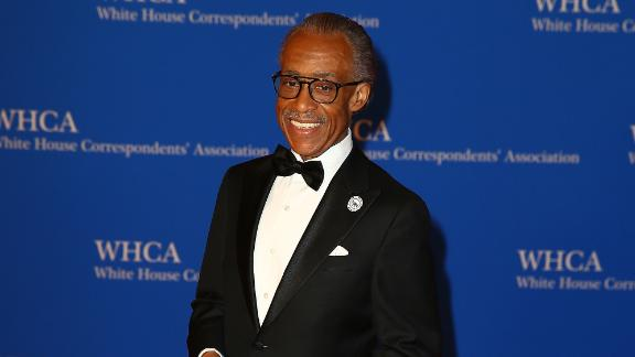 Reverend Al Sharpton attends the 2018 White House Correspondents' Dinner at Washington Hilton on April 28, 2018, in Washington, DC.