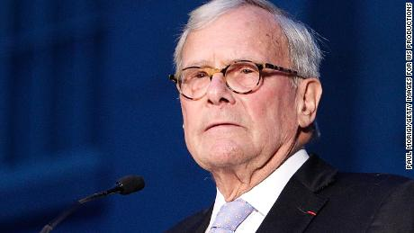 WASHINGTON, DC - MAY 02:  Tom Brokaw, NBC anchor and author, speaks at the American Visionary: John F. Kennedy's Life and Times debut gala at Smithsonian American Art Museum on May 2, 2017 in Washington, DC.