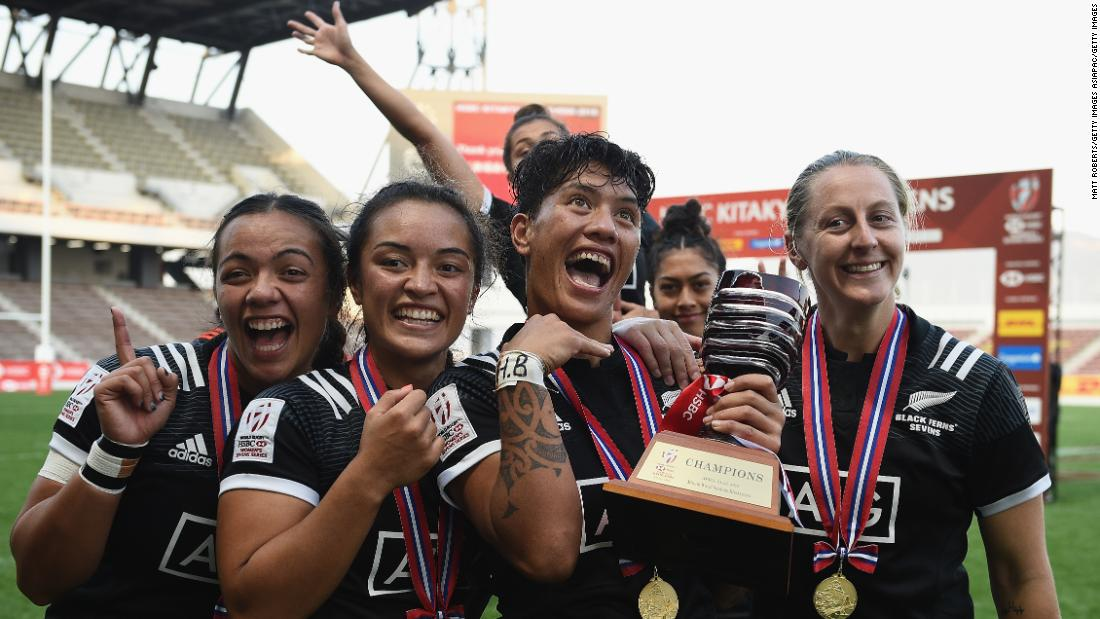 "New Zealand's Black Ferns backed up <a href=""https://edition.cnn.com/2018/04/15/sport/commonwealth-games-2018-new-zealand-win-first-womens-rugby-sevens-gold-spt/index.html"">Commonwealth gold</a> with silverware in Japan after a 24-12 victory over France in final."