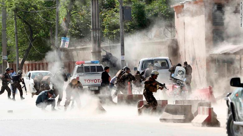 Journalists among dozens killed in Kabul bomb attacks