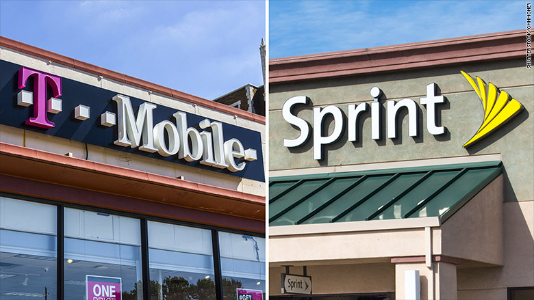 Image result for Sprint and T-Mobile face another legal challenge to merger