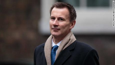 LONDON, ENGLAND - FEBRUARY 20: Health Secretary Jeremy Hunt arrives in Downing Street for the weekly cabinet meeting on February 20, 2018 in London, England. (Photo by Jack Taylor/Getty Images)