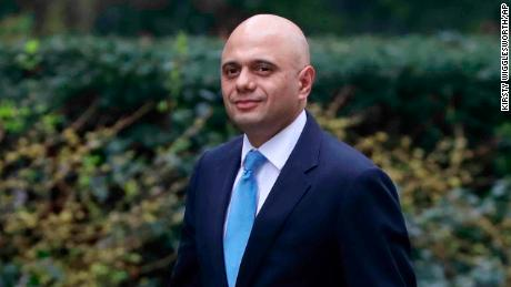 Britain's new Home Secretary Sajid Javid.