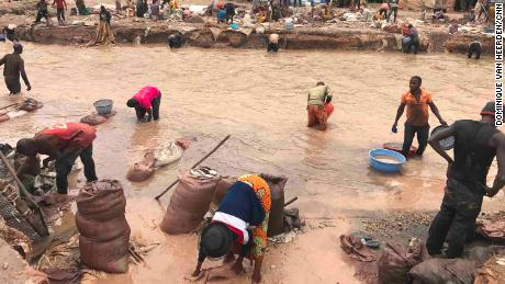 CNN discovers child labor in cobalt trade
