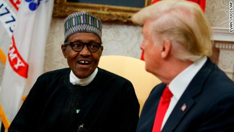 Trump did not discuss 's---hole countries' remark with Nigerian president