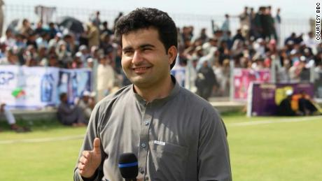 BBC Afghan reporter Ahmad Shah, killed in Afghanistan on Monday, April 30.
