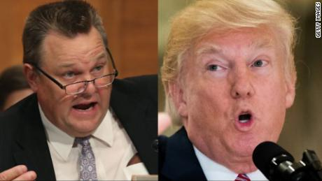 senator tester donald trump split