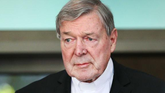 Cardinal George Pell, in May