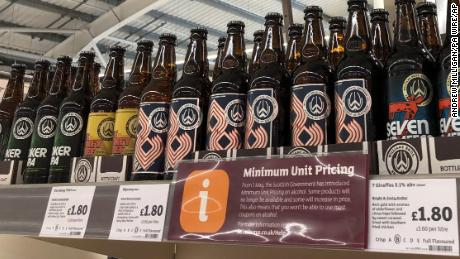 Scotland becomes first country to enforce a minimum alcohol price