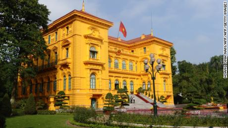 The Presidential Palace of Vietnam, once home to French Governor-General of Indochina, is today used for state receptions and to welcome foreign heads of state.